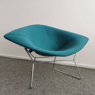 3 x Large Diamond Chair 422 by Harry Bertoia for Knoll, 1990s