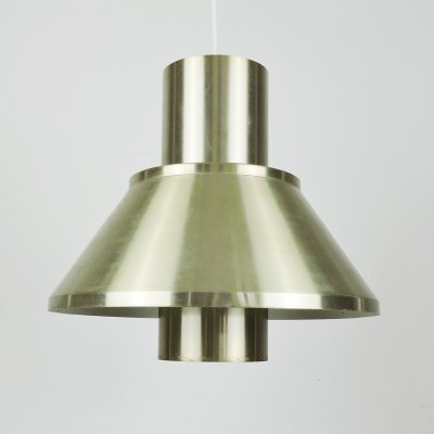 Brass Life Pendant Lamp by Jo Hammerborg for Fog & Morup, 1970s