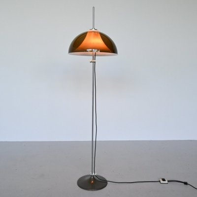 Gepo Acrylic floor lamp, The Netherlands 1960