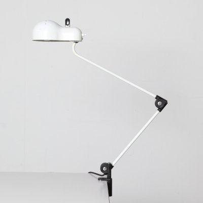 Table / clamp lamp by Joe Colombo for Stilnovo