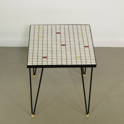 Small side table with tiles, 1950's