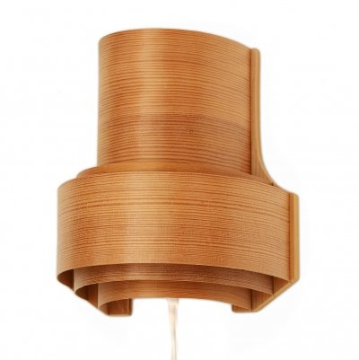 Pine wall light/sconce by Translandia, Denmark 1970s