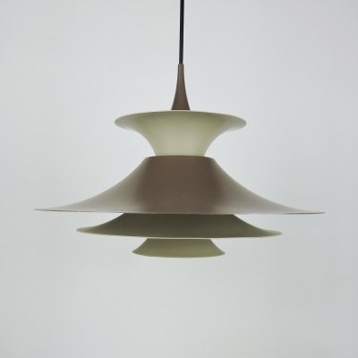 Radius Pendant Lamp by Erik Balslev for Fog & Mørup, 1970s