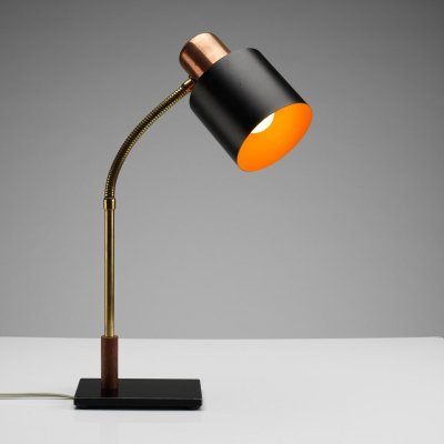Beta Desk Lamp by Jo Hammerborg for Fog & Mørup, Denmark 1960s