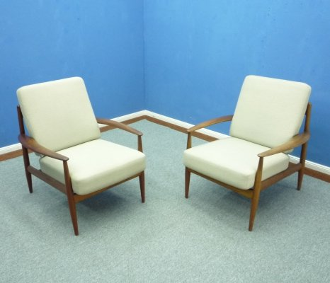 Teak Chairs by Grete Jalk for France & Daverkosen, 1960s