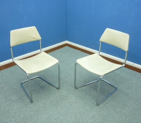 Tubular Steel Free-Swinging Chairs by Mauser, 1960s