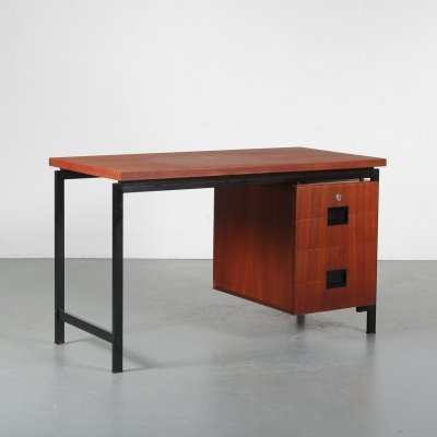 Japanese series desk by Cees Braakman for Pastoe, Netherlands 1950s