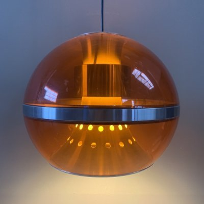 Dijkstra 'the Globe' Space Age lamp, 1960's