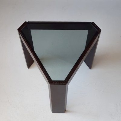 Triangular Side Table by Porada Arredi, 1970s