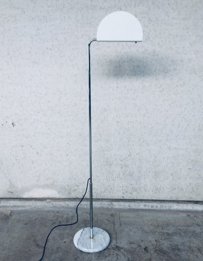 Modern Design Mezzaluna Floor Lamp by Bruno Gecchelin for Skipper Pollux