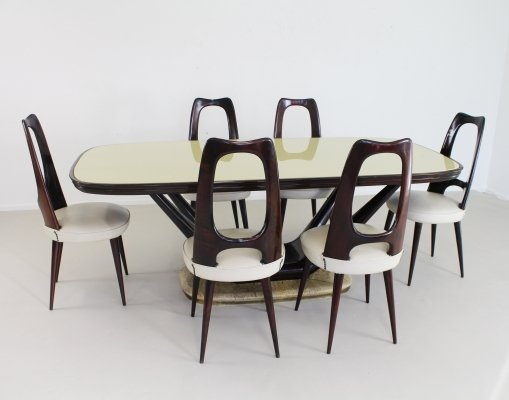 Italian dining set by Vittorio Dassi