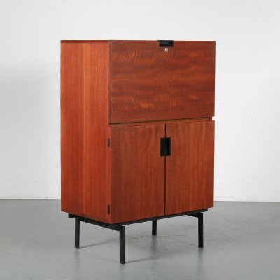1950s Japanese series cabinet by Cees Braakman for Pastoe, the Netherlands