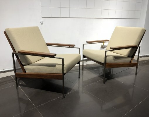 Pair of Easy Chairs by Rob Parry for Gelderland, 1960s