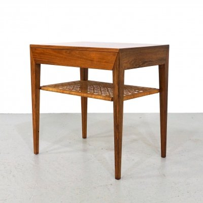 Side table by Severin Hansen for Haslev Møbelsnedkeri, 1950s