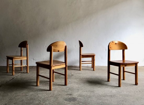 Dining Chair set by Rainer Daumiller for Hirtshals, 1970's