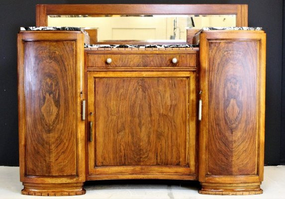 Art Deco Sideboard with marble
