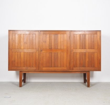 Kurt Østervig highboard in teak for Vamo Sonderborg, 1960's