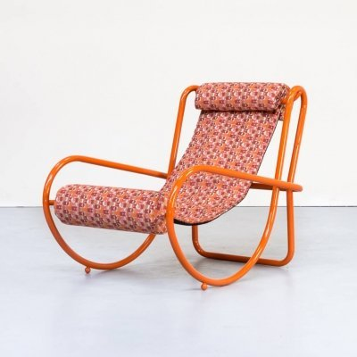 1st edition Gae Aulenti 'locus solus' lounge chair for Poltronova, 1960s