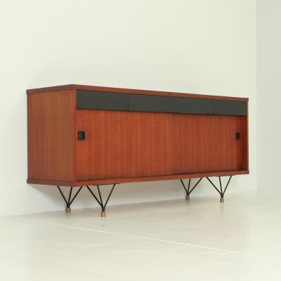 Scandinavian Sideboard in Teak, 1950's