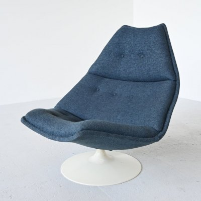 Geoffrey Harcourt F588 lounge chair for Artifort, The Netherlands 1967