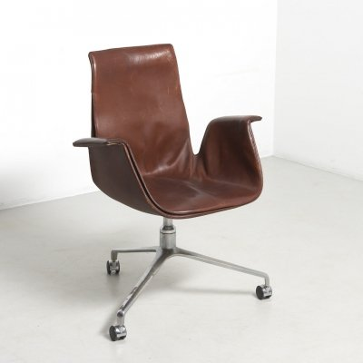 'Tulip' Desk Chair by Preben Fabricius for Kill International, Germany 1960's