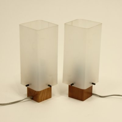 Pair of vintage desk lamps, 1960s