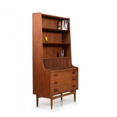 Danish high Secretary / Dresser in Teak by Johannes Sorth, 1950s
