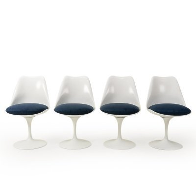 Set of 4 Dining Chairs by Eero Saarinen for Knoll, 1960s