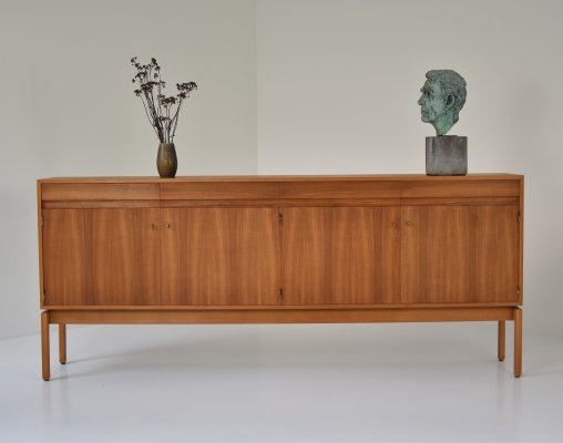 Sideboard in walnut by Jos de Mey for Van den Berghe-Pauvers, Belgium 1960's