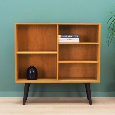 Danish design bookcase in Ash, 1970s