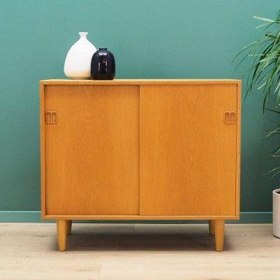 Danish design cabinet in Ash veneer, 1970s