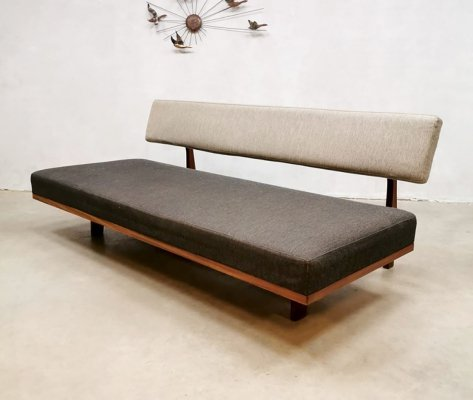 Extendable sofa daybed by Hans Bellmann for Wilkhahn, 1960s