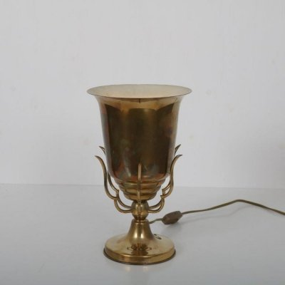 1950s Brass Italian table lamp