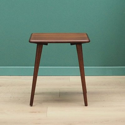 Teak side table, Danish design 1970s