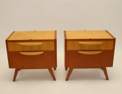 Pair of Vintage design bedside tables, 1960s