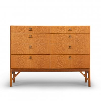 Oak chest of drawers No. 234 by Borge Mogensen for FDB Møbler, 1960s