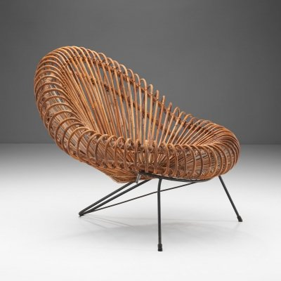Lounge Chair by Janine Abraham & Dirk Jan Rol for Rougier, France 1950s