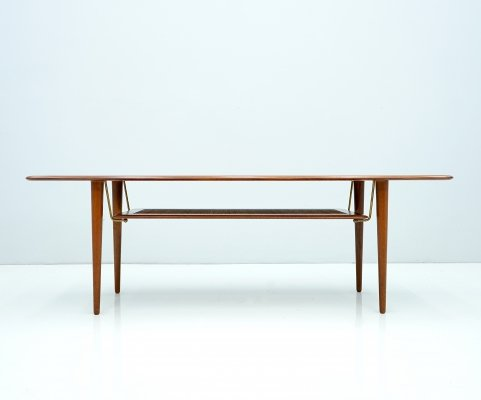 Peter Hvidt Coffee Table FD 516 for France & Daverkosen, 1956