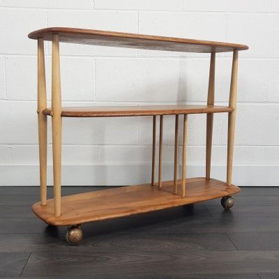 Ercol Trolley Bookcase, 1960s