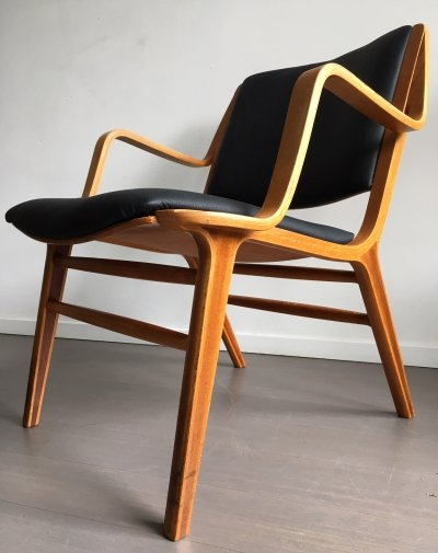 AX chair by Peter Hvidt & Orla Mølgaard-Nielsen for Fritz Hansen, 1960s