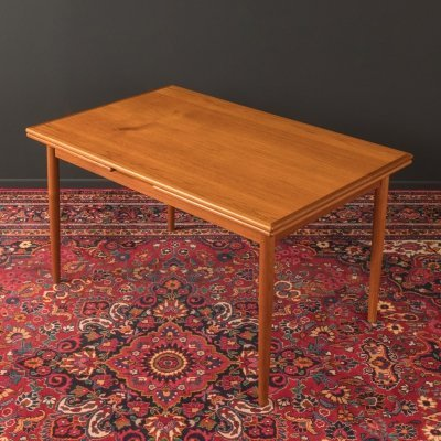 Teak dining table, Germany 1960s