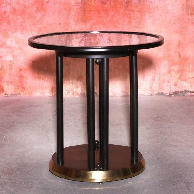Fledermaus Side Table by Josef Hoffmann for Wittmann, Austria 1960s
