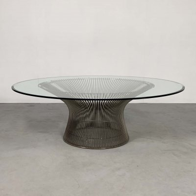 Wire Frame Coffee Table by Warren Platner for Knoll, 1970s