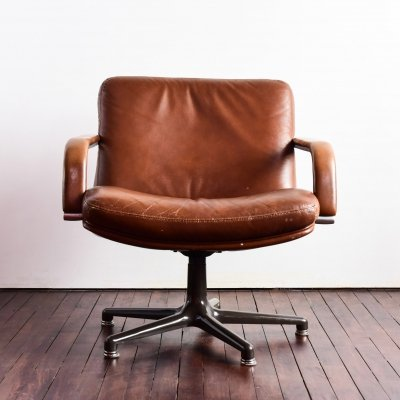 Geoffrey Harcourt Model 384 boardroom swivel chair, 1960's