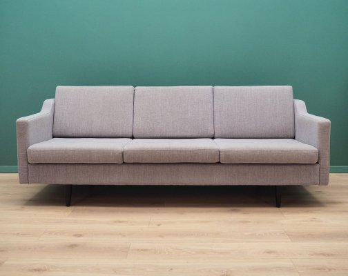 Danish design sofa in grey, 1990s