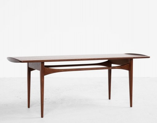 Danish coffee table in teak by Tove & Edvard Kindt-Larsen for France & Søn