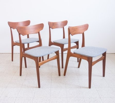 4 chairs by Schionning & Elgaard
