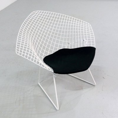 2 x Diamond lounge chair by Harry Bertoia for Knoll, 1970s