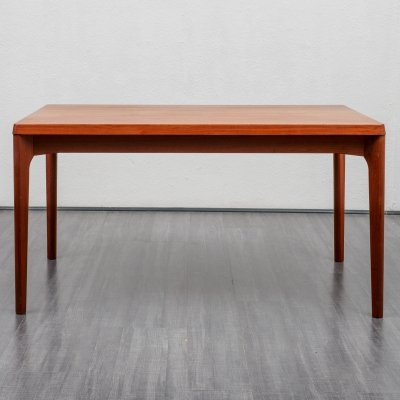 Danish midcentury teak dining table by Henning Kjaernulf, 1960s