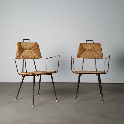 Unusual set of chairs from the 1960s